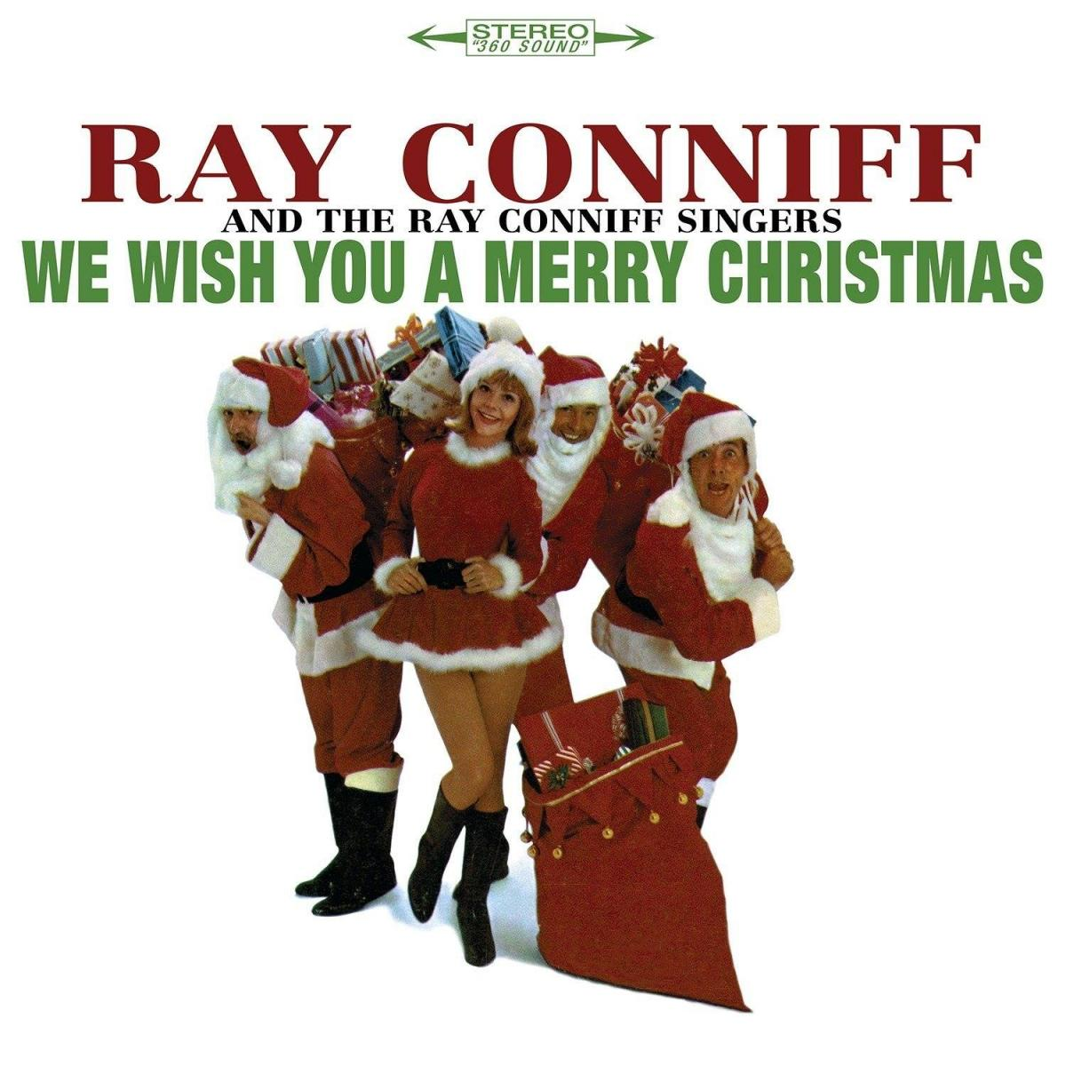 Ray Conniff's We Wish You A Merry Christmas 180g white vinyl reissue
